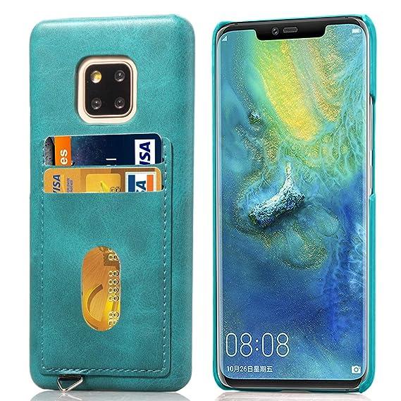 competitive price 79ba8 90910 Amazon.com: Huawei Mate 20 Pro Wallet Case,DAMONDY Slim PU Leather ...