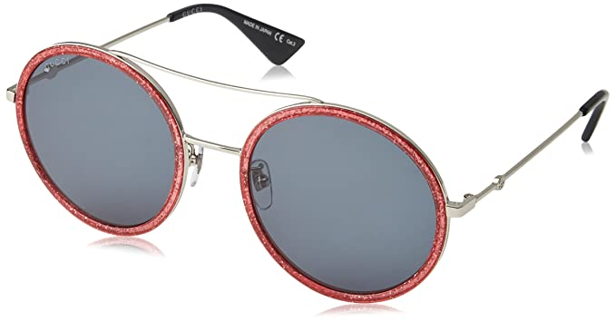 5f800195b73 Amazon.com  Gucci Womens Women s Gg0061s 56Mm Sunglasses  Clothing