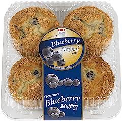 Café Valley Blueberry Streusel Muffins, 14 oz (Frozen)