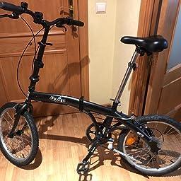 jl wenty TIJA Bici Plegable Acero DE 28.6MM Largo 500 ...