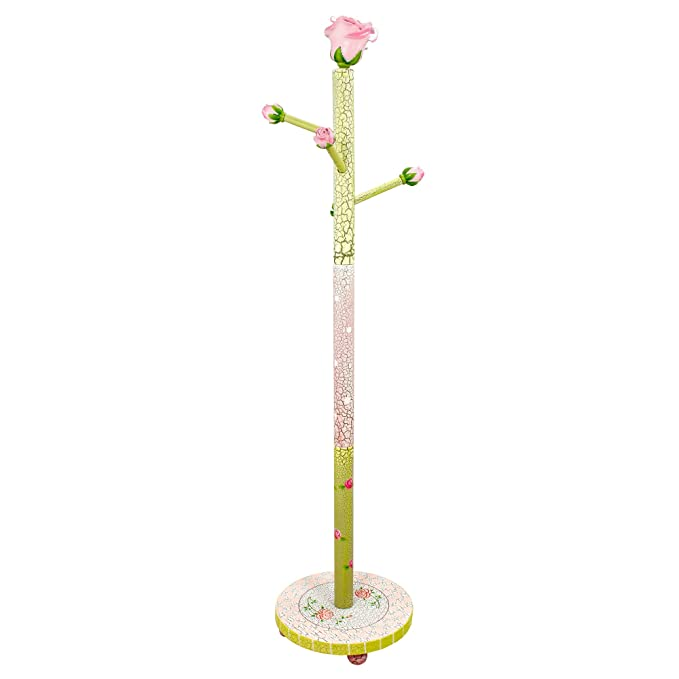 Perchero de madera rosa Fantasy Fields para niña W-7294A