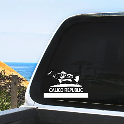 Amazon.com: Calico República/adhesivo coche Windows ...