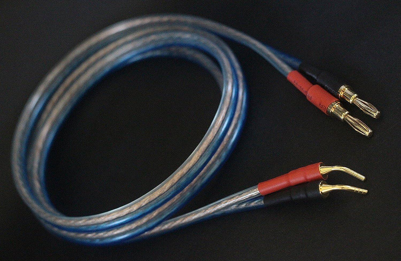 16ft 4banana/&4pin 22.9ft //7M KK ZB-SB 1pair Set 4.92ft HiFi OFC Speaker Wire 1.5M KK ZB-SB //5M //3M 9.84ft Banana Plug to Pin Type Plug