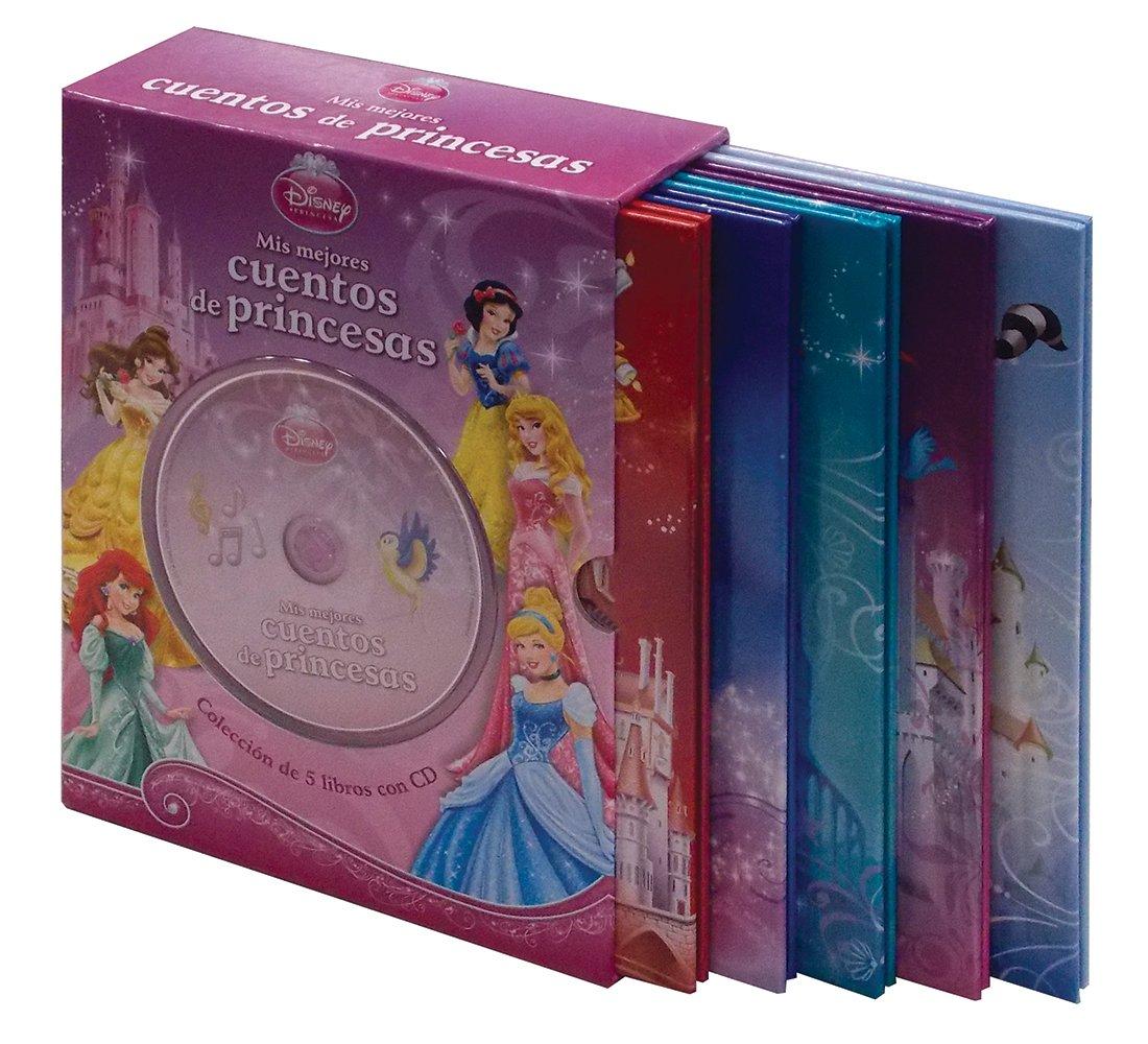caja - CUENTOS DE PRINCESAS (5 libros + CD: Amazon.es: Libros