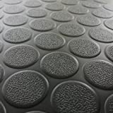 Rubber-Cal Coin-Grip Flooring and Rolling