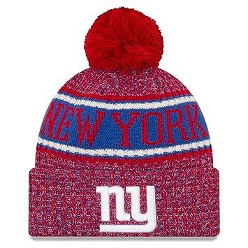 New Era NFL New York Giants 2018 Sideline Reverse Sport Knit  Amazon ... 0efa389e023c