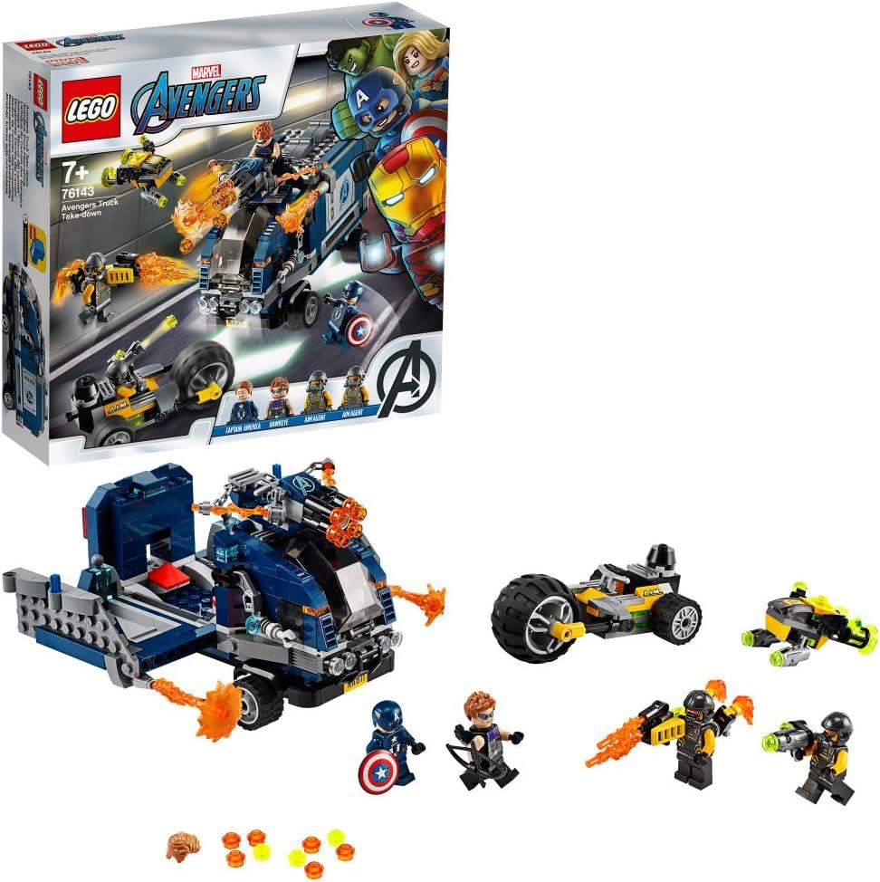 レゴ(LEGO) スーパー・ヒーローズ アベンジャーズ バトル・トラック 76143