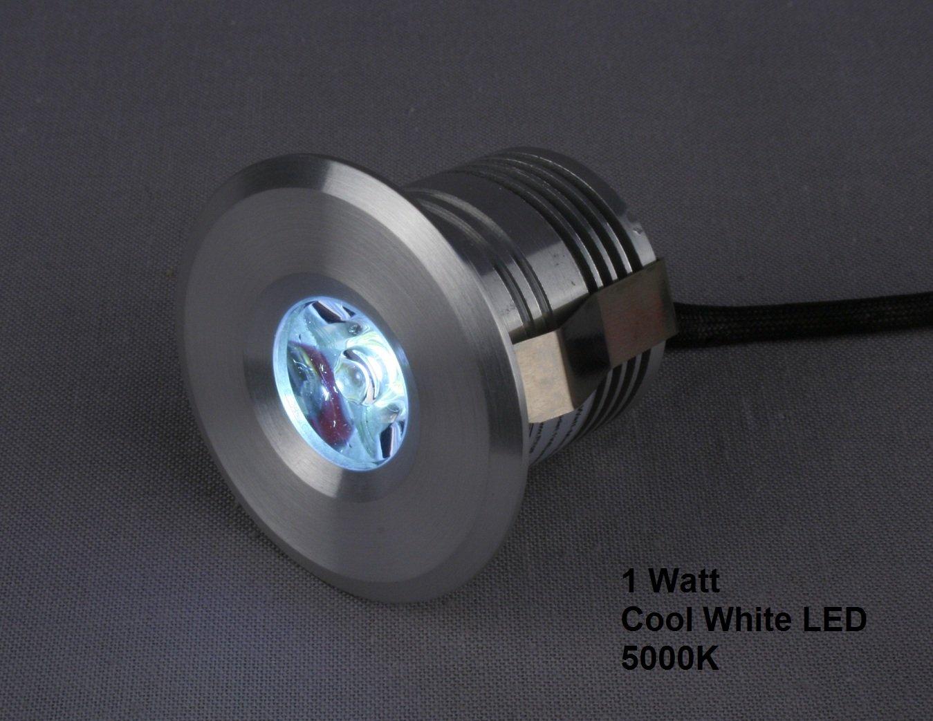Mini Spotlight Down light LED Fixture 12 to 24 VDC 3 Watt