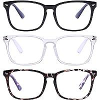 Various Blue Light Blocking Glasses Square Nerd Eyeglasses Frame Anti Blue Ray Computer Game Glasses