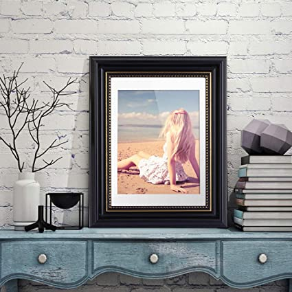 Office wall frames Inspirational Image Unavailable Amazoncom Amazoncom Olele Black Picture Photo Frames Wood 6x8 For Home