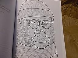 Dapper Animals Coloring Book Coloring Is Fun Design Originals Thaneeya McArdle