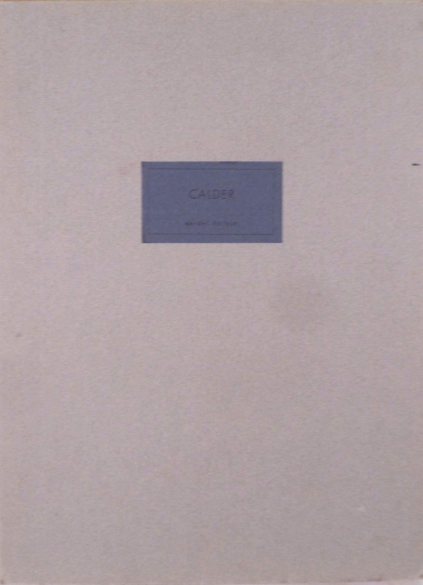 Derriere Le Miroir. No. 212, January 1975: Alexander Calder ...