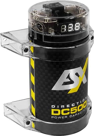 ESX dc500 direction cap 0,5 Farad búfer condensador powercap con integrado ve
