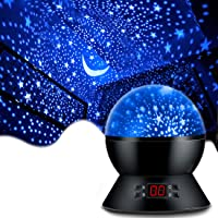 MOKOQI Star Projector Night Lights for Kids with Timer, Gifts for 1-14 Year Old Girl and Boy, Room Lights for Kids Glow…