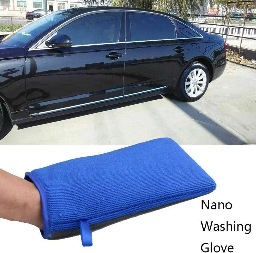 Easy and Convenient to Use Bar Car Pad Block Cleaning Eraser Wax Polish Pad Tool Cleaning Supplies Clean and Wash Your Car Magic Clay Sponge Red