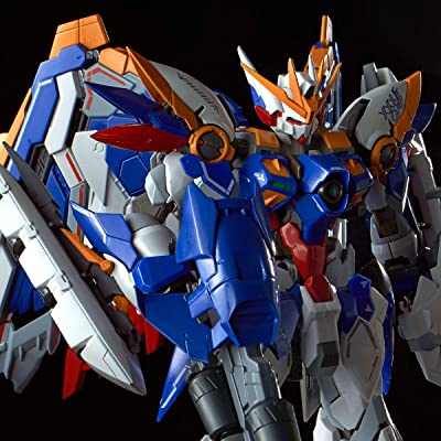 Bandayhobby Bandai Hi-Resolution Gundam Wing: Wing Gundam EW Model, BAS5055856: Toys & Games