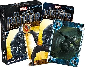 Marvel Black Panther jugando a las cartas: Amazon.es ...