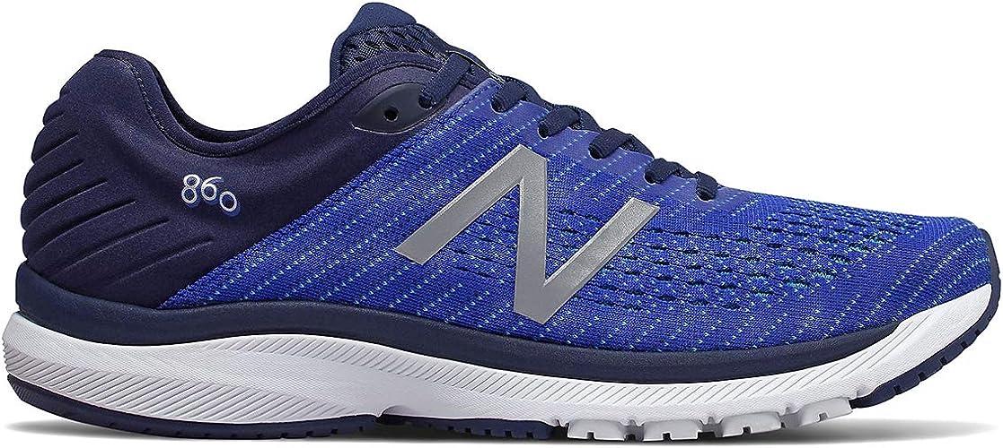 New Balance 860v10 Zapatillas para Correr (2E Width) - SS20-44.5: Amazon.es: Zapatos y complementos