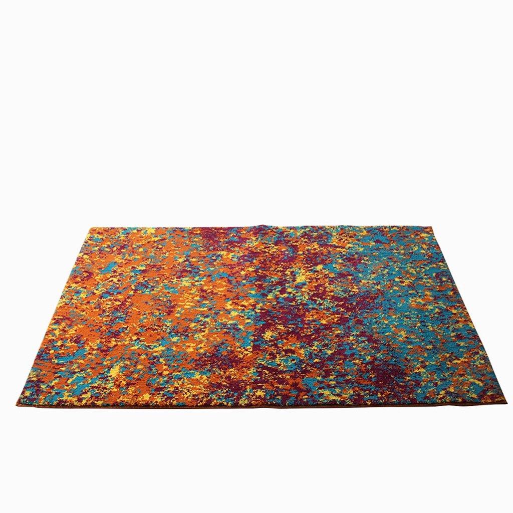 CJH モダンな印象風大きなカーペット寝室のベッドサイドの長方形のリビングルームカーペットのコーヒーテーブルマット ( Size : 120*180cm ) 120*180cm  B078LG4GNV