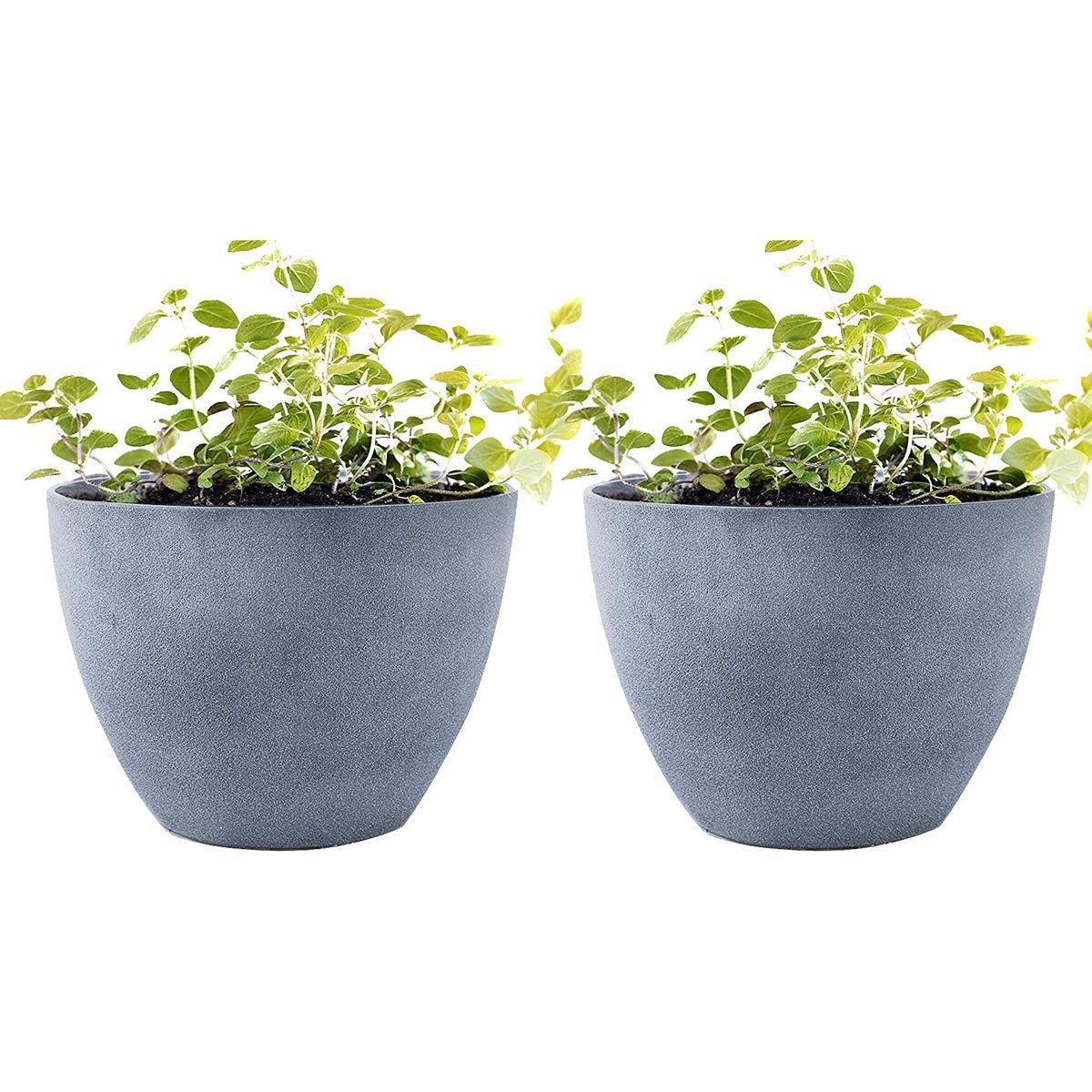 Flower-Pot-Garden-Planters-12-Pack-2-Outdoor-  sc 1 st  Silk Flower Arrangements & Flower Pot Garden Planters 12\