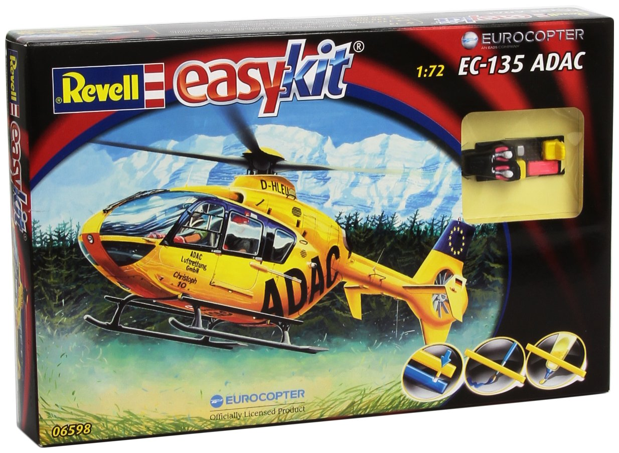 Revell Eurocopter EC 135 ADAC 1:72 Assembly Kit Rotorcraft ...