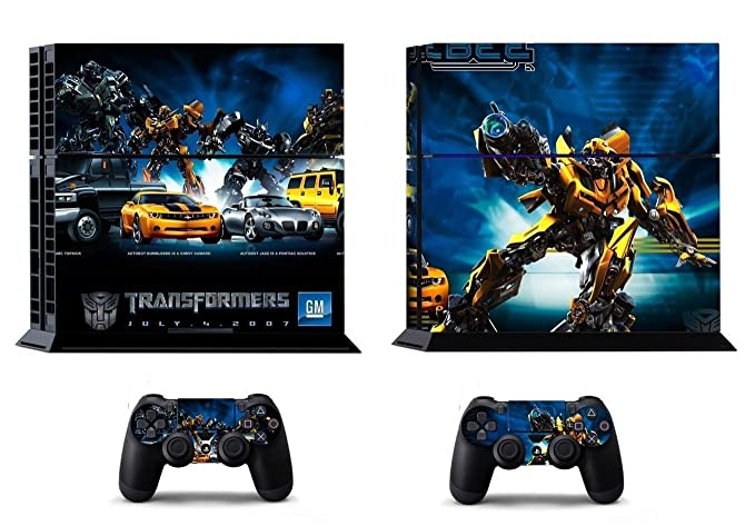 Buy Elton Transformers Theme 3M Skin Cover For Sony Ps4