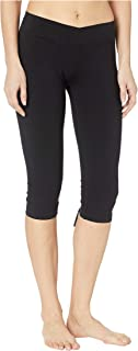 product image for Hard Tail Women's Crossover Waist Back Laced Capris
