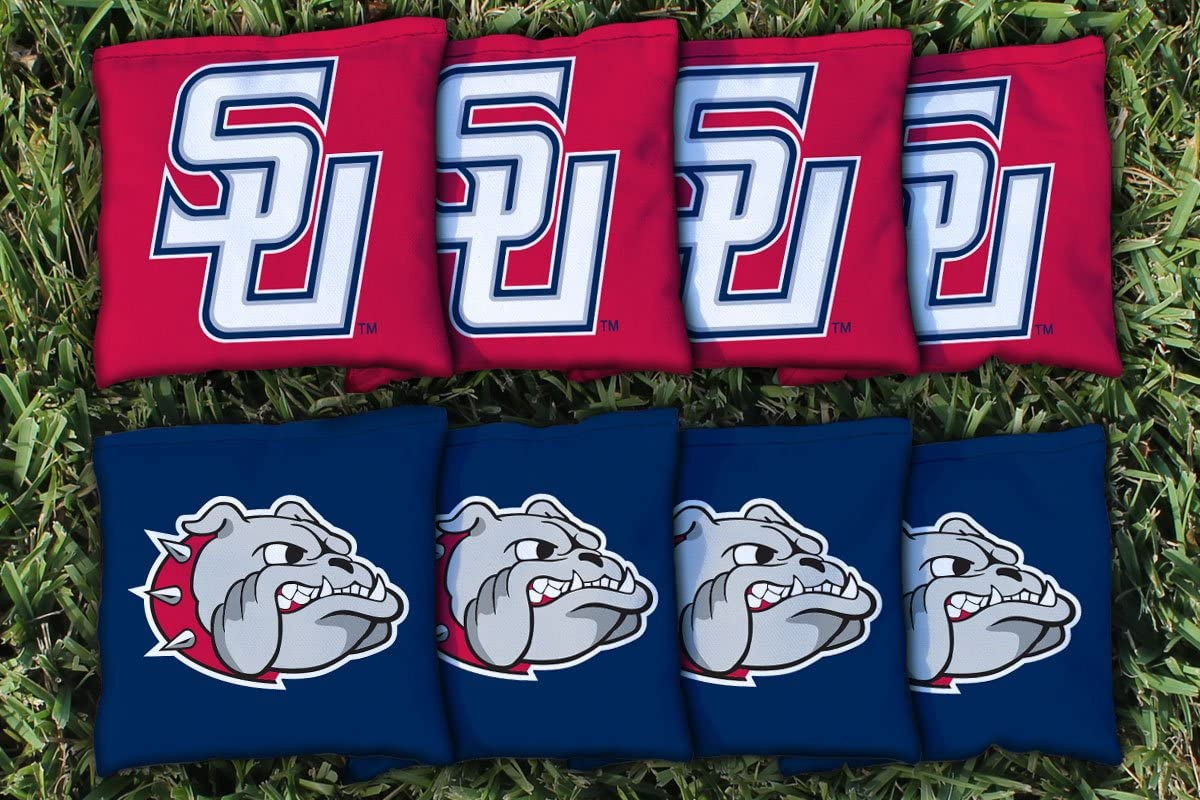 NCAA交換Corn Filled Cornhole Bag Set NCAA Team : Samford