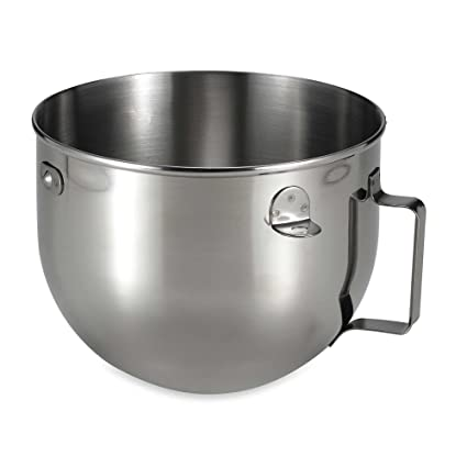 Amazon.com: KitchenAid 5-Quart Acero Inoxidable Pulido ...