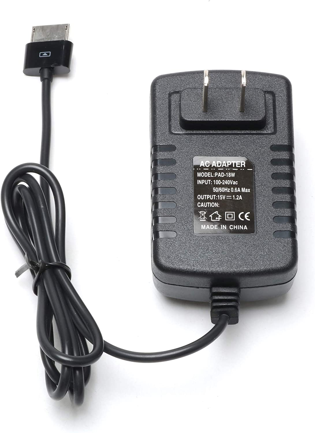 AC Wall Home Charger Power Supply Adapter ASUS Vivo Tab RT TF600 TF600T TF701T