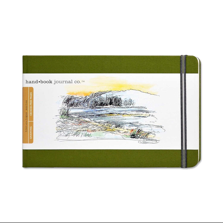Large Landscape Global Art Cuaderno de Dibujo Azul Marino