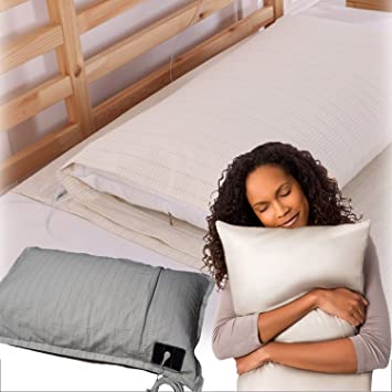 Ground Smart Earthing Pillow Case; Used With Earthing Sheets, Earthing Bedding  Sheets U0026 Grounding