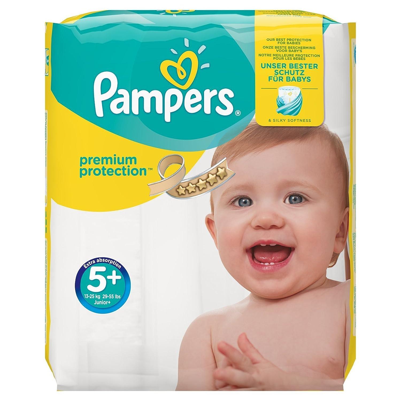 Pa/ñales Tama/ño 4 168 Pa/ñales 9-14 kg - Paquete de 1 mes Pampers Protecci/ón Premium