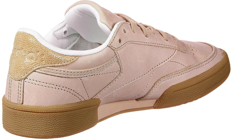 ab40297ac53 Reebok Club C 85 Fbt Trainers Nude  Amazon.co.uk  Shoes   Bags