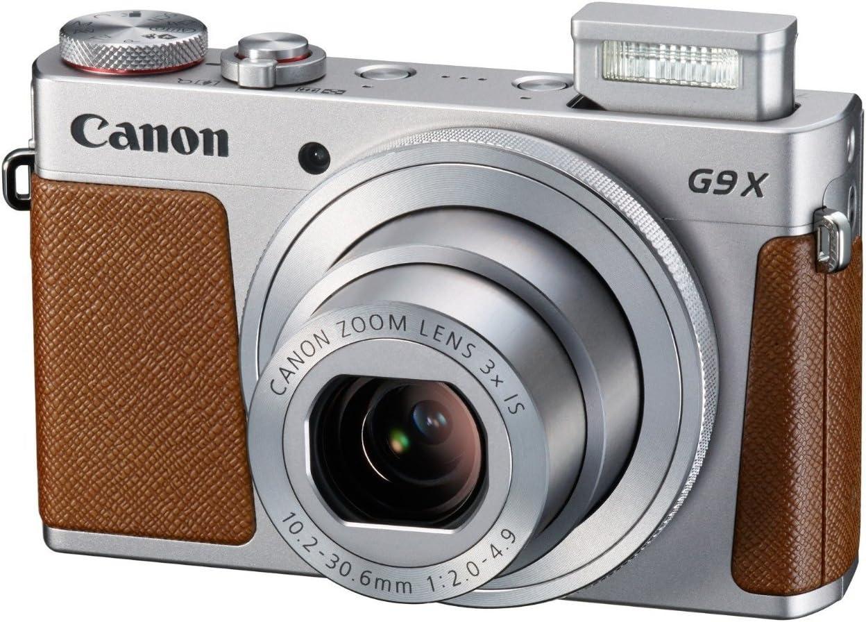 Canon Powershot G9 X Kompaktkamera 3 Zoll Silber Kamera