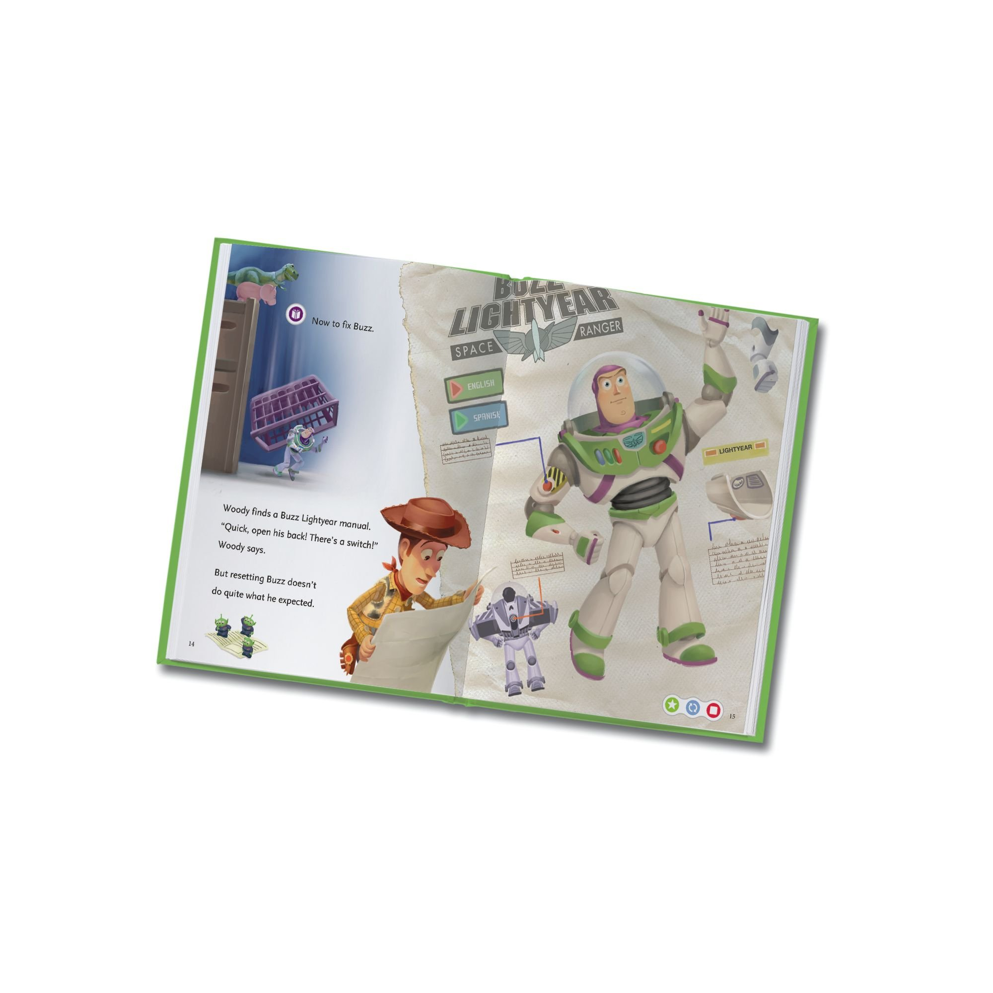 LeapFrog LeapReader Book: Disney Pixar Toy Story 3: Together Again (works with Tag) Packaging May Vary by LeapFrog (Image #6)