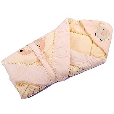 Amazon.com: xizhibao bebé envuelto manta algodón manta de ...