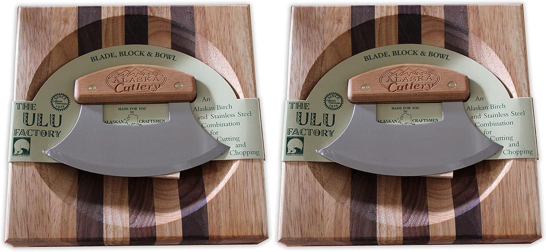 Ulu Factory Bowl 2021 model set Birch Handle Selling and selling Cutlery 2 AK