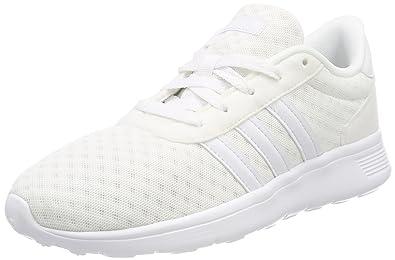 adidas Lite Racer, Chaussures de Running Mixte Adulte, Blanc (Footwear White/Footwear White/Footwear White 0), 44 EU