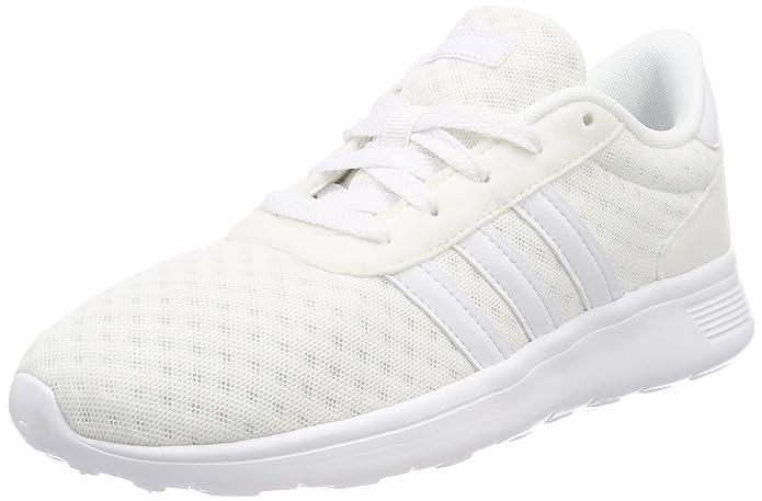 adidas Lite Racer Damen Herren Unisex Weiß