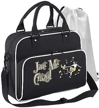 Jazz Swing lindyhop Dancing – Jive Crazy – Bolsa de danza y bolsa ...