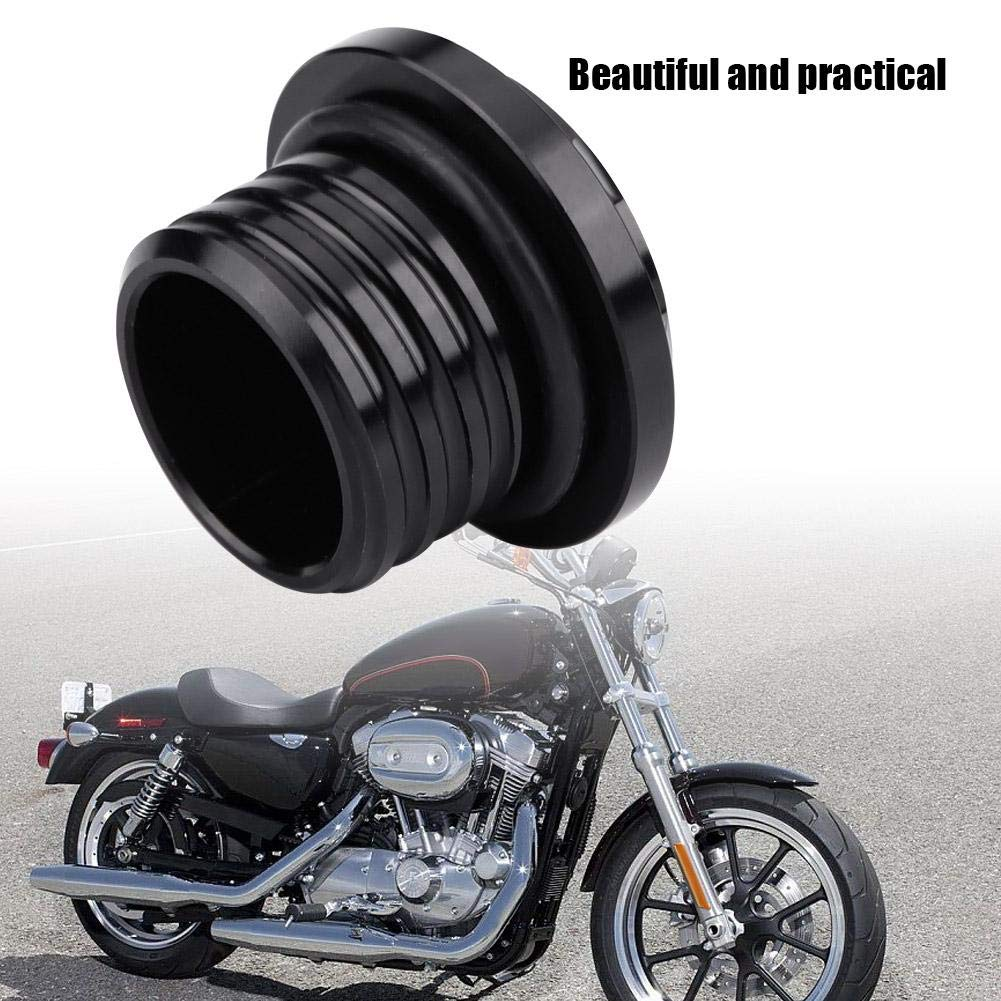 EBTOOLS Motorcycle Aluminum alloy Fuel Gas Tank Cap Cover for Sportster XL883 XL1200 Touring