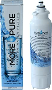 MORE Pure MPF16095 Refrigerator Water Filter Compatible with LG LT800P and Kenmore 46-9460