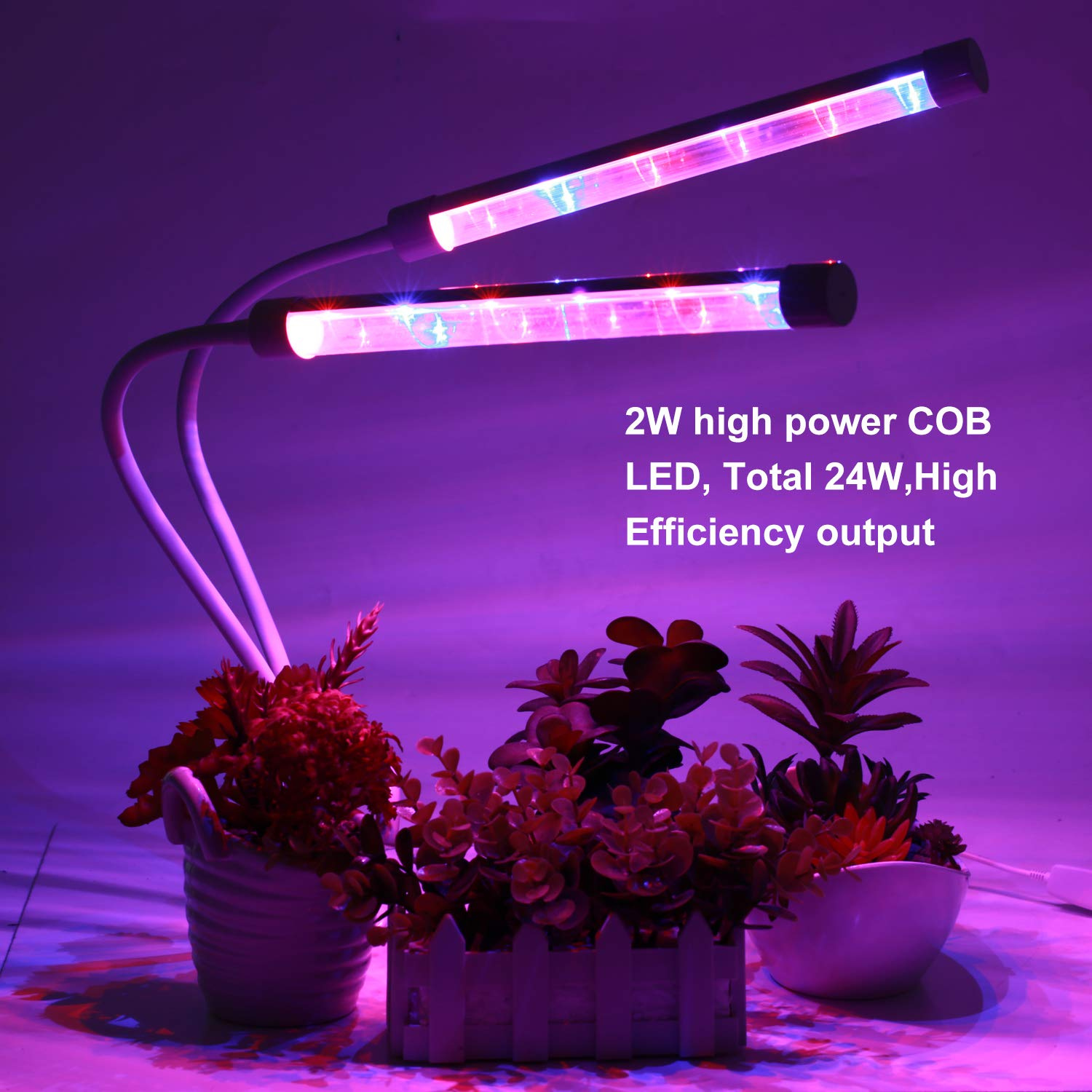 225 LEDs14W LED Plant Grow Light, for Hydroponics Indoor Greenhouse Plants,Vegetable and Flower Chinlan LED