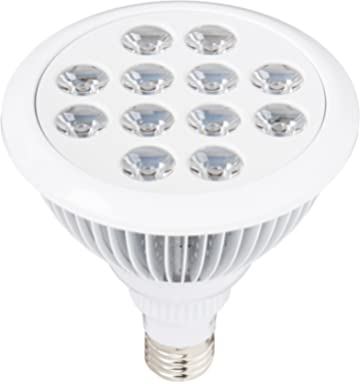 Sandalwood LED Plant Grow Light for Hydroponic Garden and Greenhouse, 12W, E27 Socket,