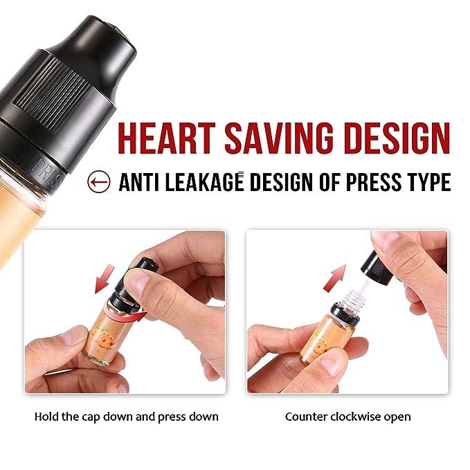 VVAY Vaper Liquido sin Nicotina 100 ml , e Líquidos Vape para Cigarrillo Electronico