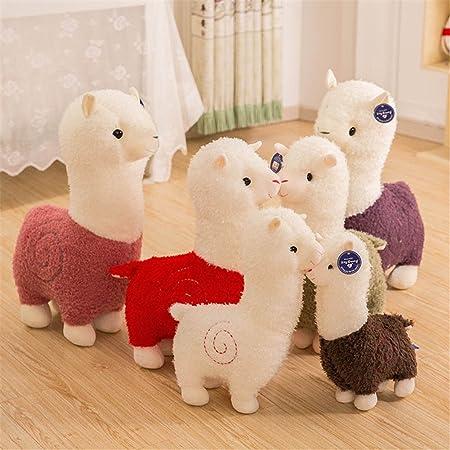 Amazon.com: Mangadua Stuffed Alpaca Plush Animal Toys Sheep ...