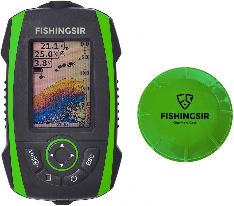 Portable Fish Finder Profondeur Sondeur sondeurs Affichage LCD Ice kayak canoë pêche