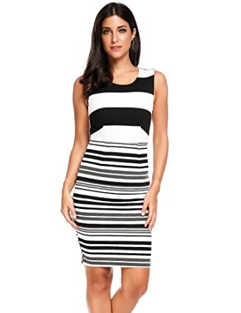etuoji Striped Tank Dress Occasions an Adorable fit and Flare fit  Wonderfully Comfortable Summer Dress Elegant 9c9cbede0