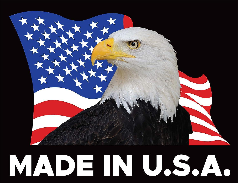 Powertye 1in x 4ft Made in USA Utility Lashing Strap Black 4-Pack